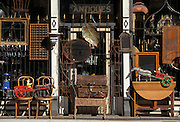Antiques store in the Gastown district of Vancouver, British Columbia, Canada.