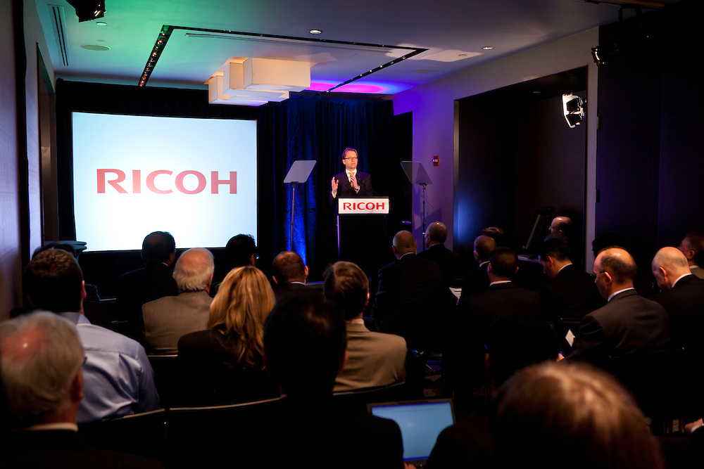 RICOH ACCELERATES BUSINESS SHIFT WITH GLOBAL.MANAGED DOCUMENT SERVICES EXPANSION.Focus is squarely on improving customers' bottom line.TOKYO, LONDON and NEW YORK, January 20, 2011 - In a global event, held in Tokyo,.London & New York, Ricoh Company, Ltd., a worldwide leader in digital office equipment and.advanced document management solutions and services, today announced an investment.designed to aggressively accelerate its shift to a services business model as a key growth.strategy, building upon its core foundation of industry-leading hardware and software.technologies and document and IT-related services. To advance this shift, Ricoh plans to invest.$300 million USD over three years in its global Managed Document Services (MDS).infrastructure, underscoring the company's commitment to its continued partnership with its.customers, helping them to grow their bottom line through effective document management,.improved workflow and increased productivity.