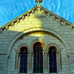 Cross over Armenian Church, Old City, Jerusalem, Israel