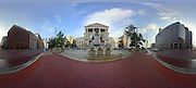 Panoramic of the Indiana Statehouse in Indianapolis, Wednesday July 03 2013. Photo by AJ Mast