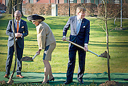 19-3-2015 - Thunen - arrival of King Willem-Alexander and Queen Maxima organic farm at the Thünen Institute .  King Willem-Alexander and Queen Maxima in Sleeswijk- Holstein and Hamburg on Thursday 19 and Friday, April 20th . COPYRIGHT ROBIN UTRECHT