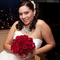Bridal Portrait at Cardinal Club Raleigh, NC