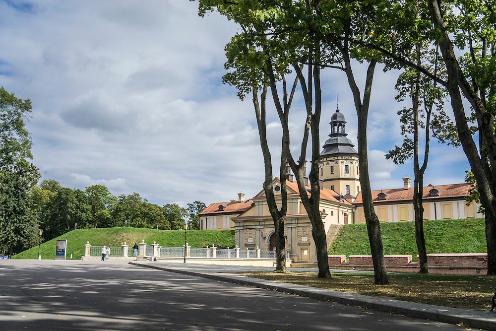 Nesvizh Castle on Friday, September 16, 2016 in Nesvizh, Belarus.