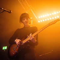 Elena Tonra of the British band Daughter performs at the Glasgow School of Art on the 16th November, 2015. Glasgow, Scotland.