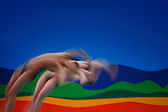 Rio de Janeiro, Brazil, July 27 of 2007:   The divers David Boudia and  Thomas Finchum got the gold medal in the 10m platform . (Photo: Caio Guatelli)