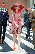 ROTTERDAM - Queen M&aacute;xima opens exhibition Design Derby: Netherlands-Belgium (1815-2015) Queen M&aacute;xima opens Friday June 19th 2015 at Museum Boijmans Van Beuningen in Rotterdam, the exhibition 'Design Derby: Netherlands-Belgium (1815-2015). The objects show styling two centuries in the Low Countries. COPYRIGHT ROBIN UTRECHT<br /> ROTTERDAM - Koningin M&aacute;xima opent tentoonstelling Design Derby: Nederland-Belgi&euml; (1815-2015) Koningin M&aacute;xima opent vrijdagmiddag 19 juni 2015 in Museum Boijmans Van Beuningen in Rotterdam de tentoonstelling &lsquo;Design Derby: Nederland-Belgi&euml; (1815-2015)&rsquo;. De objecten tonen twee eeuwen vormgeving in de Lage Landen. COPYRIGHT ROBIN UTRECHT