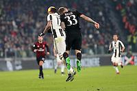 can - 25.01.2017 - Torino - Coppa Italia Tim  -  Juventus-Milan nella  foto: Mario Mandzukic e Kucka