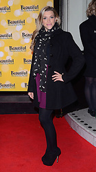Anna Williamson attends Beautiful - The Carole King Musical Press Night at The Aldwych Theatre, The Aldwych, London on Tuesday 24 February 2015 February 2015