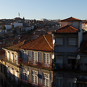 "The historic centre of Porto was declared a World Heritage Site by UNESCO in 1996. The World Heritage site is defined in two concentric zones; the ""Protected area"", and within it the ""Classified area"". The Classified area comprises the medieval borough located inside the 14th-century Romanesque wall."