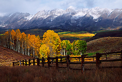 Autumn on Ohio Pass near Crested Butte, Colorado.