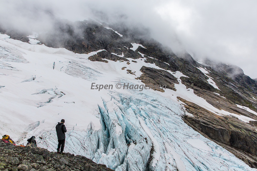 By the Slingsby glacier
