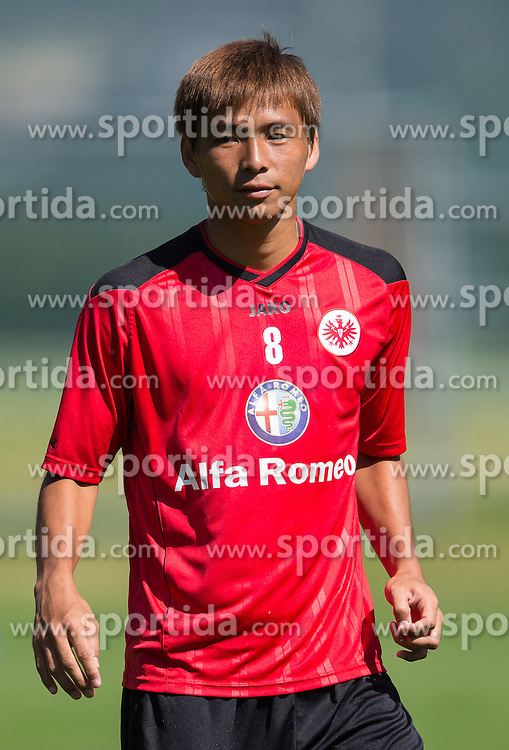 17.07.2013, Sportzentrum, Laengenfeld, AUT, Eintracht Frankfurt Trainingslager, im Bild Takashi Inui // during the Trainings Camp of German Bundesliga Club Eintracht Frankfurt at the Sportzentrum, Laengenfeld, Austria on 2013/07/17. EXPA Pictures © 2013, PhotoCredit: EXPA/ Johann Groder