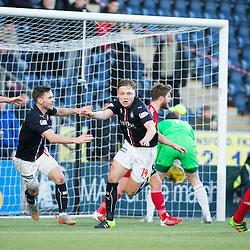 Falkirk 1 v 1 Ayr United, Scottish Championship 14/1/2017, The Falkirk Stadium.