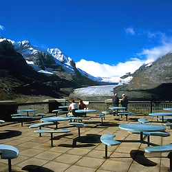 View on Columbia Icefield, Jasper National Park, Alberta, Canada.<br /> Original on slide. Tiff file is available on request.
