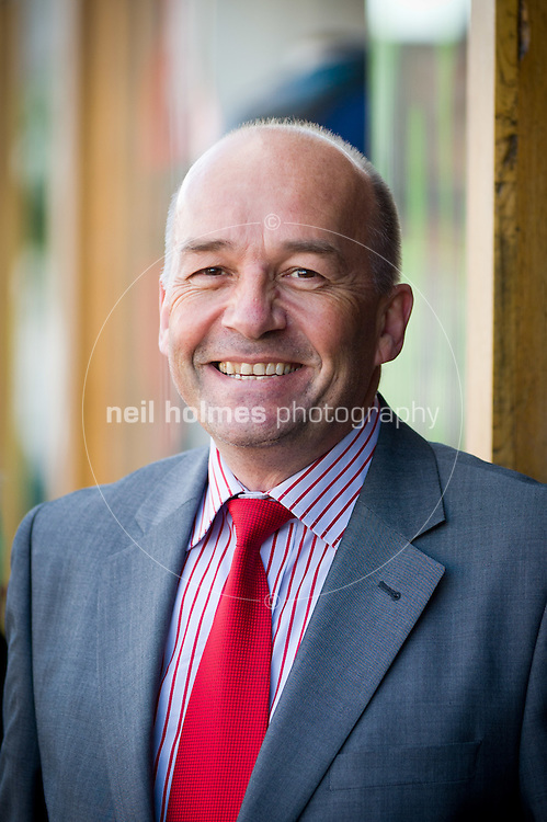 Ben Gardiner, chair of the Chamber of Trade, Beverley. Photographed in Saturday Market