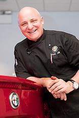 Aldo Zilli At Lookers Alfa Romeo Sheffield