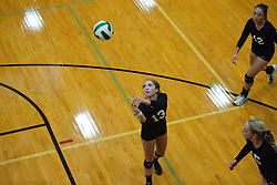 Drew Dobney at the Kuna Klassic volleyball tournament at Kuna High School, Kuna, Idaho, August 29, 2015.