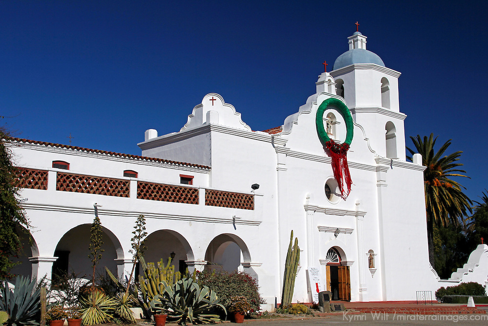 USA, California, Oceanside. Old Mission San Luis Rey de Francia.