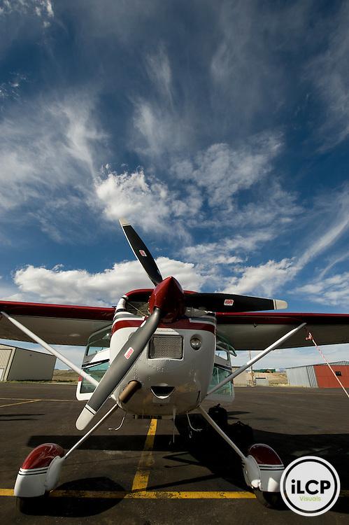 LightHawk volunteer pilot's plane.