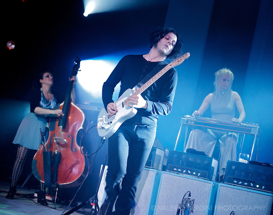 Jack White live @ HMV Forum London 23 April 2012<br /> This picture has been published on the Guardian on the 25 April 2012