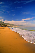 Image of the main beach in Puerto Vallarta, Mexico