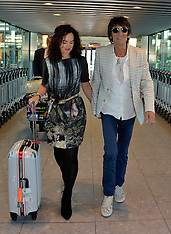APR 15 2014 Ronnie Wood and wife Sally