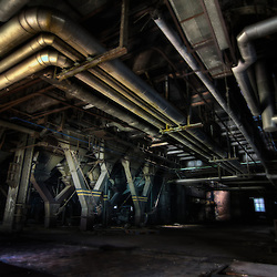 ECVB, the disused power station and urbex temple in Belgium