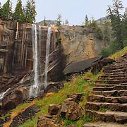 Vernal Falls Mist Trail - Autumn - Yosemite