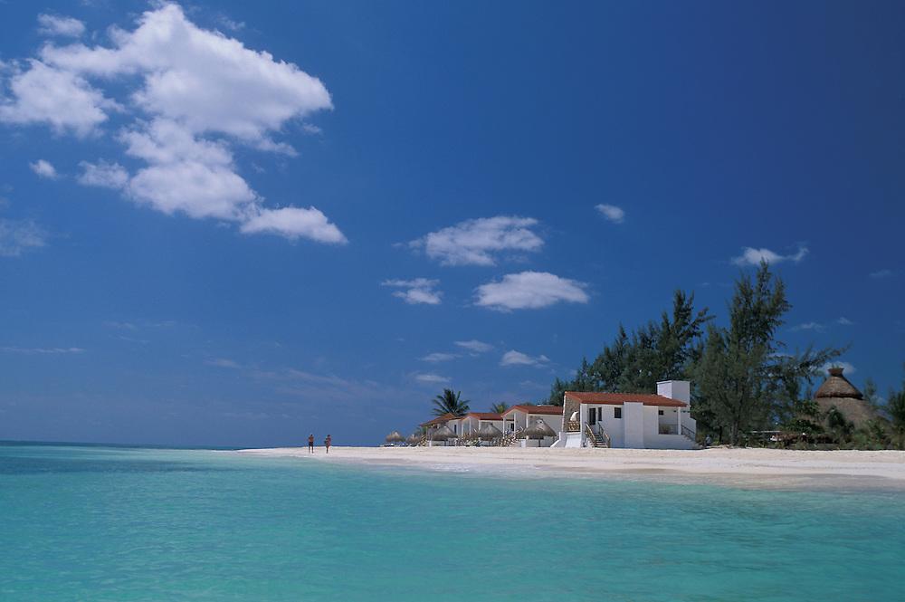Beach near Playa Carmen ,Quintana Roo ,Mexico