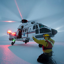 2012/02 Helicopter SAR au Svalbard