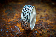 Silver Ring with Celtic Design - Jul 2014.