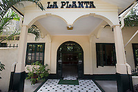 La Planta Hotel sits where the old Bais power plant of Bais used to be, hence the name.  La Planta Hotel is well known in Negros Oriental for its architecture and retro dining room.