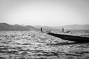 Fisherman on Inle Lake, central Myanmar