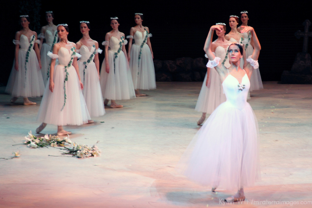 Europe, Russia, St. Petersburg. Mariinsky Ballet performance of Giselle.