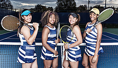 2016 A&T Women's Tennis Team Pictures
