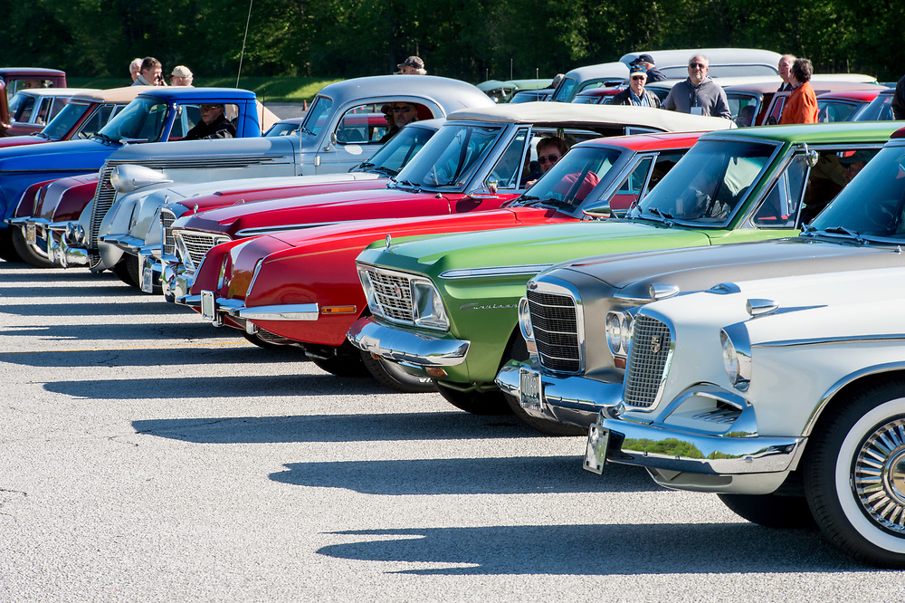 May 6, 2017; Studebaker Drivers Club Meet 2017 test track drive (Photo by Matt Cashore)