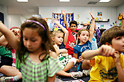 MELISSA LYTTLE       Times<br /> SP_351237_LYTT_TWINS_11 (March 15, 2012, Clearwater, Fla.) Engaged and excited about learning, Hailey Scheinman, center left, loves school and loves being in Colleen Davis' first grade gifted class at Leila Davis Elementary with best friend Ainsley Walling, center, right, both 7. On the last day of school, both girls wrote a letter to their principal, Mrs. Hill, detailing the many reasons they should be kept together and put in the same class next year. Hailey's reasons were: that Ainsley once saved her life on the play ground, she would be lonely at lunch and that Ainsley is &quot;the bestest friend I could ever have.&quot; Ainsley's reasons were similar: Hailey's a big help in class, she would also be lonely during lunch and &quot;I would be heart broken.&quot; [MELISSA LYTTLE, Times]