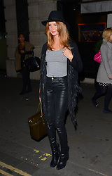 Millie Mackintosh attends Xperia Z3 Launch Party as Sony celebrates the launch of its new Xperia Z3 smartphone at Aqua Nueva, 30 Argyll Street, London W18 on Thursday 25th September 2014