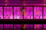 under the bridge, nightclub, chelsea football club, london, england, uk, lighting, LED