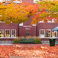 Fall colors, campus scenes, photo Patrick Sweeney
