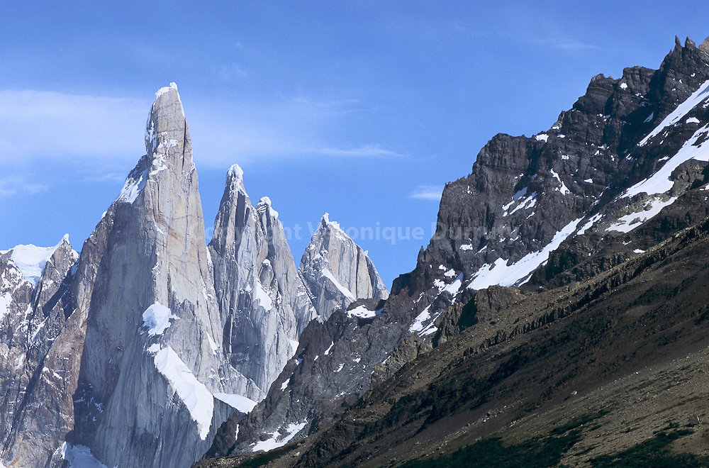 PARC NATIONAL LOS GLACIARES VERS LE FITZ ROY, EL CHALTEN, PATAGONIE, ARGENTINE