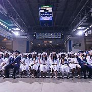 Delcastle high school students participate in Delcastle Forty-Sixth commencement exercises Tuesday, May 26, 2015, at The Bob Carpenter Sports Convocation Center in Newark, Delaware