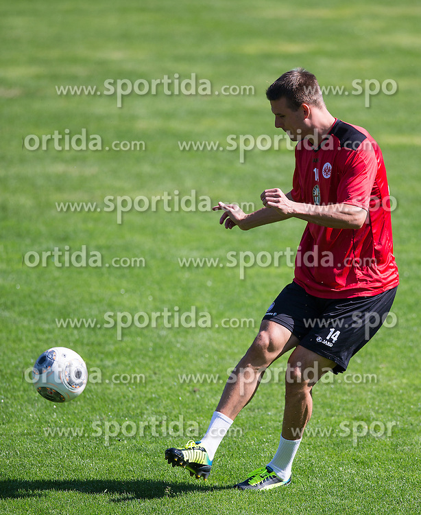 17.07.2013, Sportzentrum, Laengenfeld, AUT, Eintracht Frankfurt Trainingslager, im Bild Alexander Meier // during the Trainings Camp of German Bundesliga Club Eintracht Frankfurt at the Sportzentrum, Laengenfeld, Austria on 2013/07/17. EXPA Pictures © 2013, PhotoCredit: EXPA/ Johann Groder