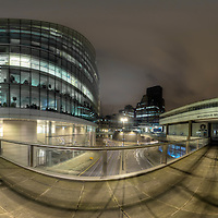 London Wall at Night
