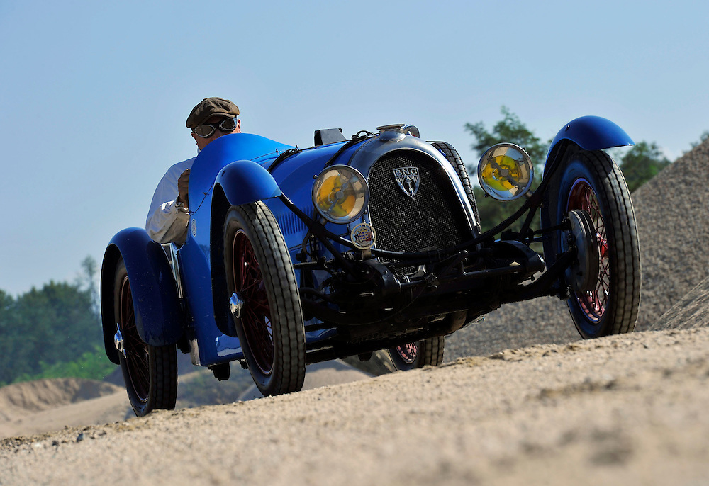 10/09/14 - MARINGUES - PUY DE DOME - FRANCE - Essais Cyclecars BNC Monza type 527 de 1928 - Photo Jerome CHABANNE
