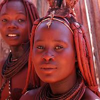 Himba People, Kaokoland, Kunene Region, Namibia