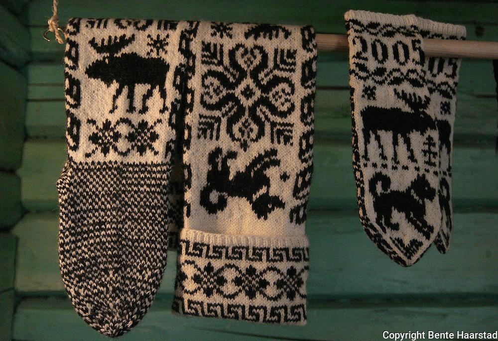 Selbustrikk. Selbu knitting.