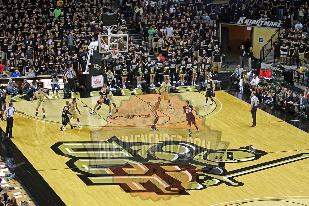 UCF unveils new blacktop court design  CBSSportscom