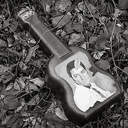 Elvis's Guitar Popcorn Container, found on East Branch Housatonic River