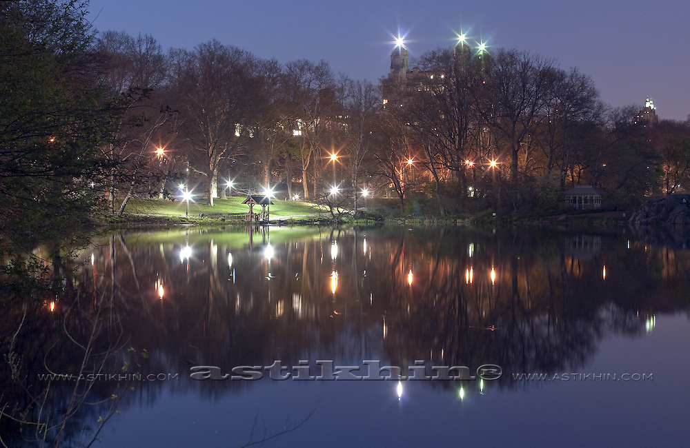 Evening in Central Park